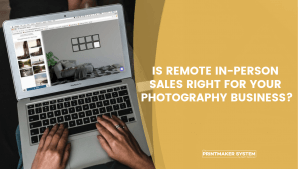Tips for Virtual In-Person Sales for your photography business