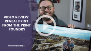 Thumbnail image for a video review of a Reveal Print from The Print Foundry by Chris Scott at The Printmaker System