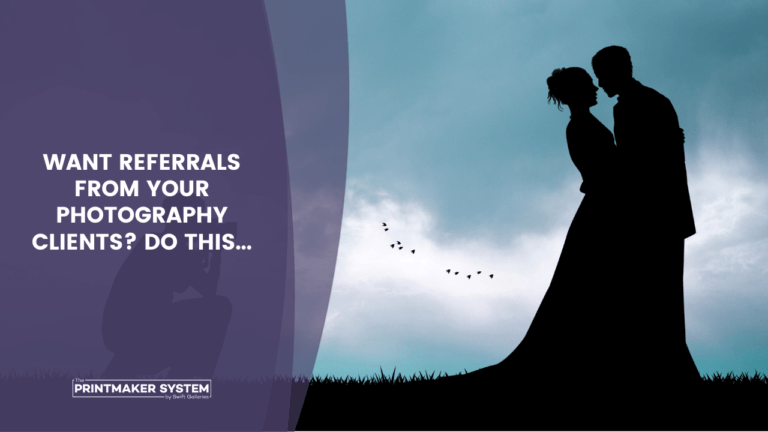 How to get photography referrals